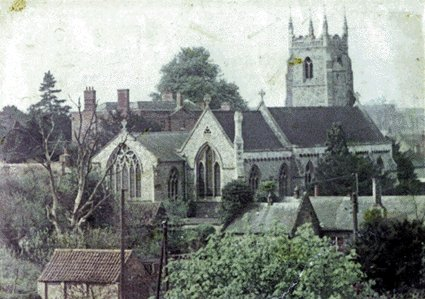 St Mary's Church from up high